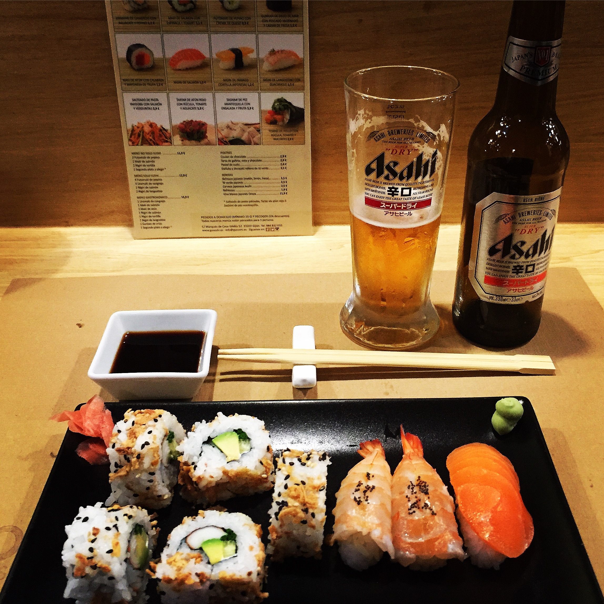 March 2015 lifewithrosa for My sushi gijon